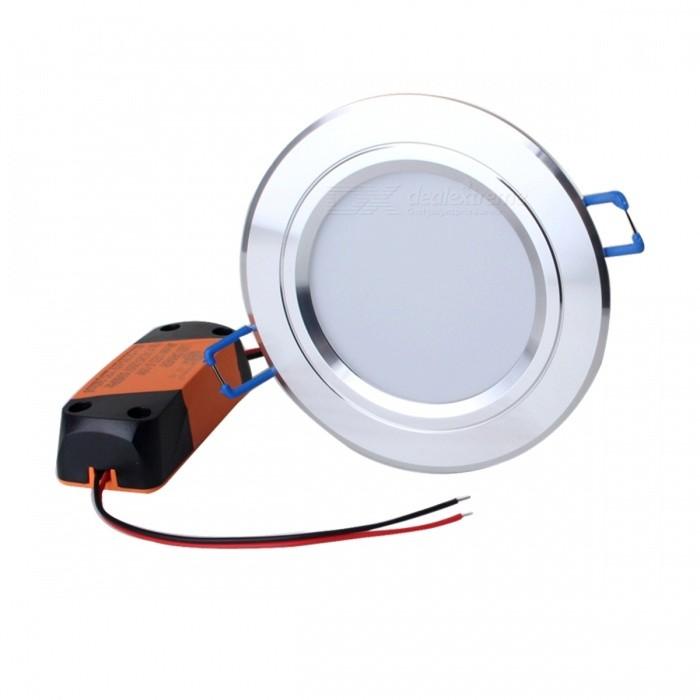 ZHISHUNJIA ZSJ12W-S 3'' 12W 800lm 3000K 24-5630 SMD LED Warm White Light Ceiling Lamp (AC 85~265V)