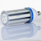 HZT-2104D E27 54W 4860LM 3000K 162 x 5630 SMD LED Warm White Light Lamp - Silver (AC 85~265V)