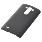 Unbreakable Protective ABS Back Case Cover for LG G3 Cellphone - Black