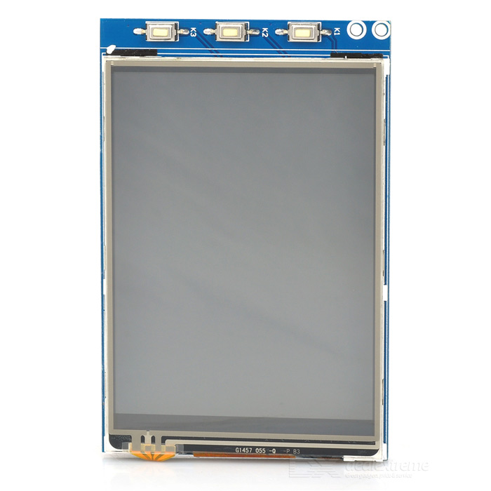 "Waveshare 3.2"" LCD Resistive Screen Module for Raspberry Pi"
