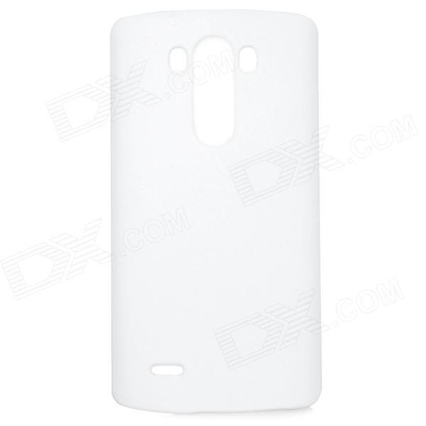 Protective Matte ABS Case for LG G3 - White