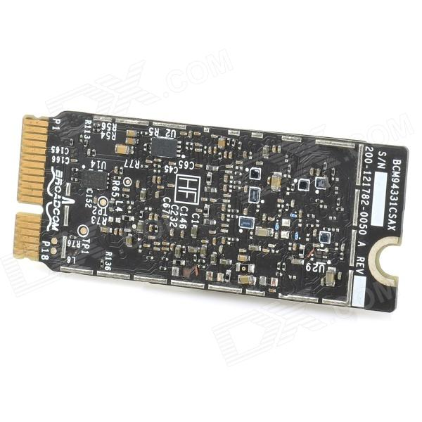 Broadcom BCM94331CSAX PCI-E 300Mbps Wireless Network Card Adapter for Macbook Pro A1398 - Black