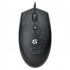 Logitech G90 USB 2.0 2500dpi Wired LED Optical Gaming Mouse - Black