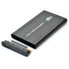 "Yaosheng IDE to USB 2.0 HDD External Aluminum Box Case for 2.5"" Mobile Hard Disk Drive - Black"