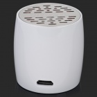 EW-008-BT Mini Bluetooth V3.0 Speaker w/ Microphone / Micro USB - White + Silver