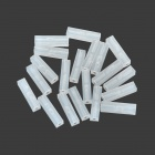 T-2-20 DIY Sand Table Model Making Plastic Isolating Bars / Rods - White (20 PCS)