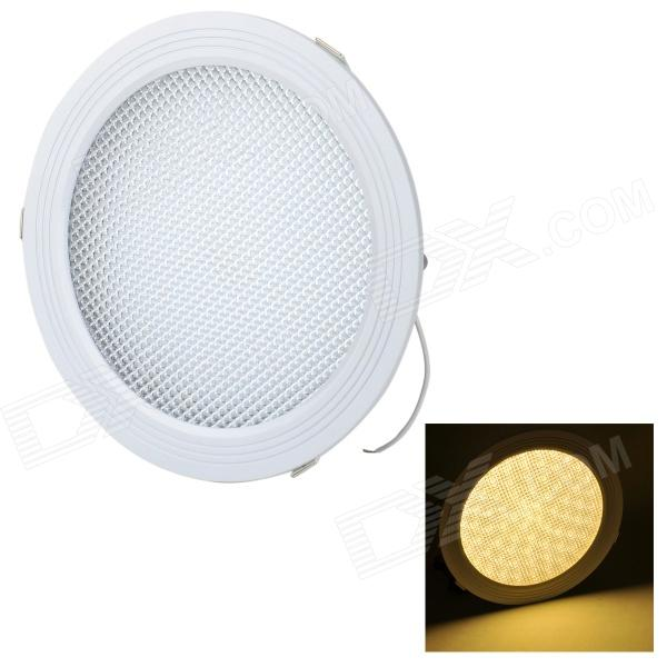 18W 1400lm 3000K 90-SMD 2835 LED Warm White Panel Ceiling Lamp - White (AC 85~265V / 13+17cm) 18w 3500k 1480lm 90 smd 2835 led warm white ceiling light w driver white ac 90 265v