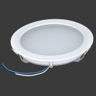 18W 1400lm 3000K 90-SMD 2835 LED Warm White Panel Ceiling Lamp - White (AC 85~265V / 13+17cm)
