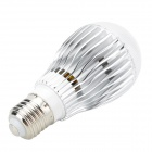 E27 5W 300lm RGB Light COB LED Remote Control Globular Bulb (90~260V)