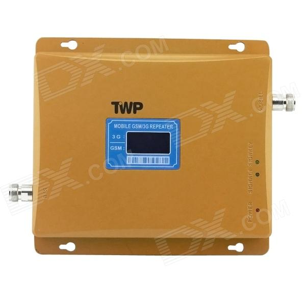 GSM /WCDMA 900/2100MHz Dual-Band Mobile Phone Signal Amplifier Display / Signal Repeater Booster