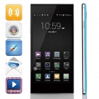"LEAGOO Lead1 MTK6582 Quad-Core Android 4.4.2 WCDMA Bar Phone w/ 5.5"" HD, 8GB ROM, Wi-Fi, GPS - Blue"