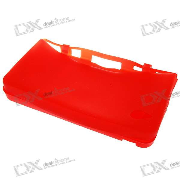 Protective Silicone Case for NDSi LL (Red)