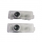 D&Z BMW-A 3W 150lm 10000K Cool White Light Car Decoration Light for Land Rover (12~24V / 2PCS)