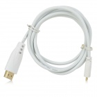Apower-link D-9015C 1080P HDMI Male to Micro HDMI Male Data Connection Cable - White (1.5m)