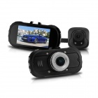 "IDOMAX 2 .7"" Full HD 1080P CMOS 170° Wide Angle Car DVR w/ G-Sensor, IR Night Vision - Black"