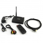 TWP-M8S Quad-Core Android 4.4 Smart TV Box w/ 2GB RAM / 16GB ROM / Mic / USB / TF / Wi-Fi - Black