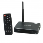 TWP-M8S Quad-Core Android 4.4 Smart TV Box w / 2 Go RAM / 16GB ROM / Mic / USB / TF / Wi-Fi - Noir