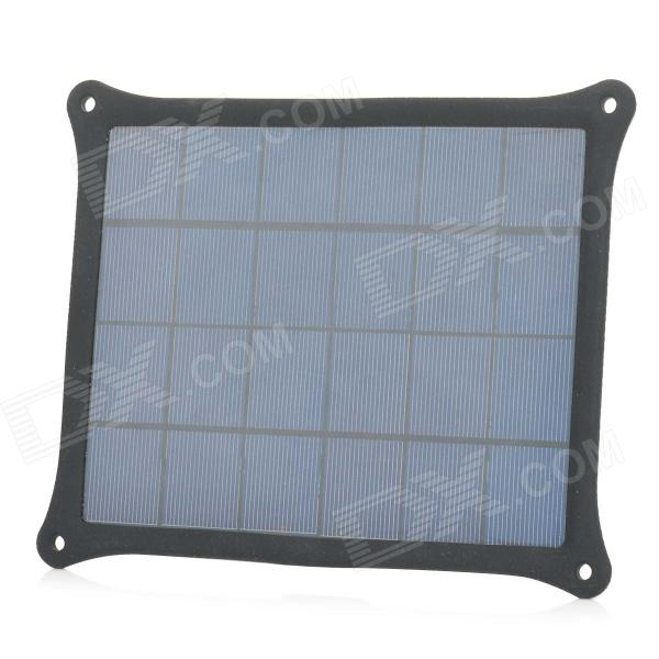 где купить A5W 5W 5V 1A USB Output Monocrystalline Silicon Solar Power Panel - Black + Dark Blue по лучшей цене