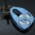 Durable Outdoor Rock Climbing Speed Pulley - Blue