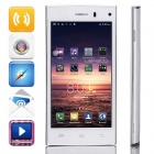 "LEAGOO Lead3 MTK6582 Quad-core Android 4.4.2 WCDMA Bar Phone w/ 4.5"" IPS QHD, FM, GPS - White"