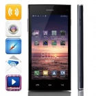 "LEAGOO Lead3 MTK6582 Quad-core Android 4.4.2 WCDMA Bar Phone w/ 4.5"" IPS QHD, FM, GPS - Dark Blue"