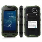 Discovery v6  4.0'' Screen MTK6572 Dual-Core Android 4.2.2 GSM Bar Phone - Army Green