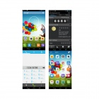 "SOSOON X60 3G Dual-Core Android 4.2.2 WCDMA Bar Phone / 6"", 1GB RAM, 4GB ROM, Bluetooth"