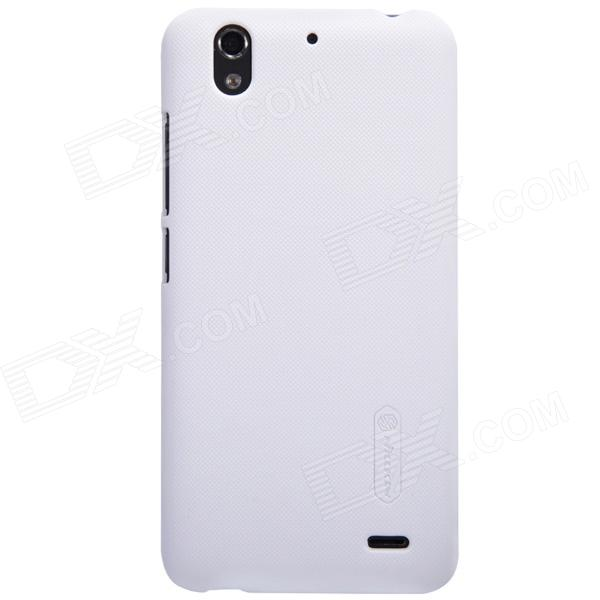 NILLKIN Protective Matte Plastic Back Case for Huawei G630 - White nillkin protective plastic back case w screen protector for nokia lumia 630 golden