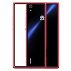 NILLKIN Protective Plastic Back Case for HUAWEI Ascend P7 - Red