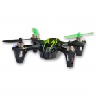 Hubsan H107C 2.4G 4-CH R/C Quadcopter w/ 2.0MP HD Camera - Black + Green