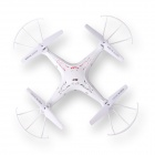 Syma X5 4-kanals 2.4GHz R / C Explorers Quadcopter m / Stable 6-Axis Gyro - Hvit