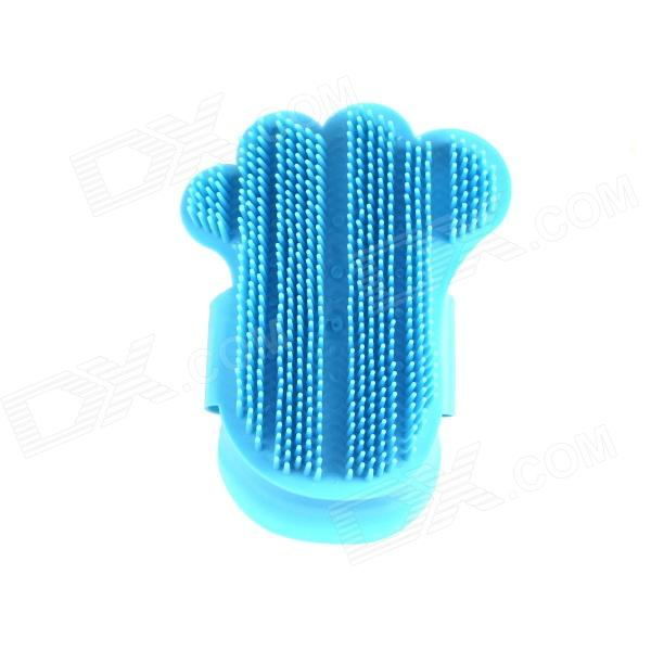 Handy Massage Bath Brush for Pet Cat / Dog - Blue
