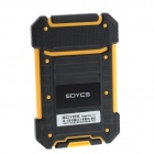 "SOYES S1 1.0"" Screen Ultra-thin Mini Dual-Band Bluetooth V2.0 GSM Card Phone - Black + Yellow"