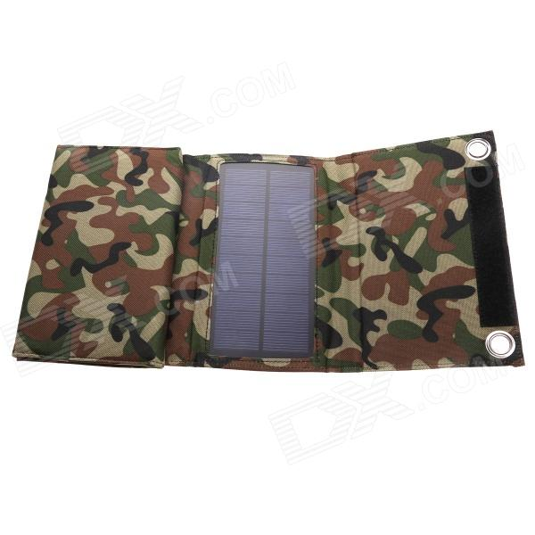 LINK DREAM LC-010 Portable Foldable 5V 10W USB Solar Powered Panel Charger - Camouflage