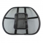 LK-33 Ice Silk Mesh Massage Cushion Pad for Car Seat - Black