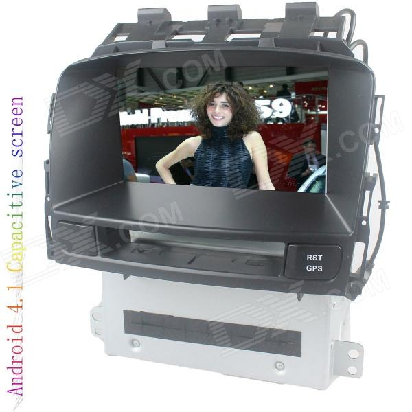 цена на LsqSTAR 7 Android4.1 Capacitive Screen Car DVD Player w/ GPS WiFi FM BT Canbus AUX for Opel Astra J