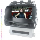 "LsqSTAR 7"" Android4.1 Capacitive Screen Car DVD Player w/ GPS WiFi FM BT Canbus AUX for Opel Astra J"