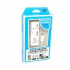 CY GT-129-WH Keyboard Style USB 2.0 MS / SD / MMC / TF Card Reader - White