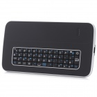 Ultra-thin Bluetooth V3.0 51-Key Keyboard + ABS Case for Samsung Galaxy S5 - Black