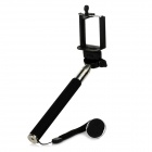 Universal Mount Holder +  Monopod + X71A Bluetooth V3.0 Self-Timer Set for iOS / Android - Black