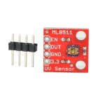 ML8511 ML8511 UV Sensor Breakout Detect Module - Red