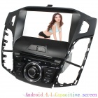 "LsqSTAR 8"" Android 4.1 Capacitive Screen Car DVD Player w/ GPS WiFi SWC BT Canbus AUX for Ford Focus"