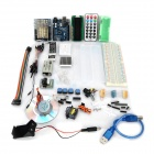 Board Learning Kit for Arduino UNO R3 - Multicolored