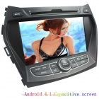 "LsqSTAR 7"" Android4.1 Capacitive Screen Car DVD Player w/ GPS WiFi SWC AUX for Hyundai IX45/Santa Fe"