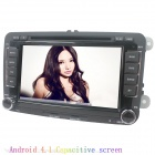 "LsqSTAR 7"" Android4.1 Capacitive Screen Car DVD Player w/ GPS WiFi Canbus AUX for Volkswagen Series"