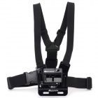 Adjustable Sport Chest Belt + Bumper Frame for Mini SMILE GoPro Hero 3+ / Hero 3 - Black