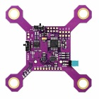 9DOF STM32F103 + MPU6050 + HMC5883L + Li-ion Battery Charging Module for Quadcopter - Purple