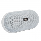 B15 Mini Wireless Bluetooth V3.0 Speaker w/ 3.5mm / Mini USB / FM / Microphone / TF - White