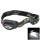 Pange Water-proof Cree XP-E Q3 200LM 3-Modes LED Cold White Light Headlamp