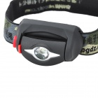 Pange Water-proof 200LM 3-Modes LED Cold White Light Headlamp